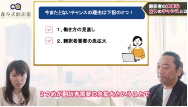 森谷式翻訳術 評判 口コミ トランスクリエーション